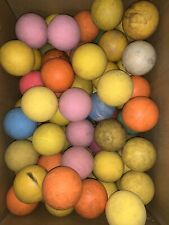30 Lot of used lacrosse balls - Mix Colors