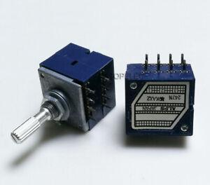 Japan ALPS RK27 Logarithmic Stereo Volume Potentiometer Dual Unit 8pin Loudness