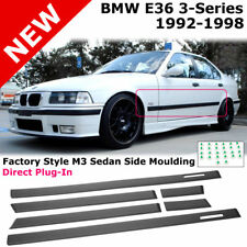 BMW E36 3-Series 92-98 Sedan M3 Style Flush Side Door Moulding Trim Molding Mold