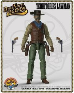 """Dime Novel Legends 1:18 scale (4"""") old west action figure Territories Lawman"""