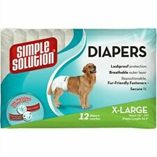 Simple Solution Dog Disposable Diapers X Large 12pk