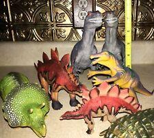 Large scale lot of Dinosaurs figures/toys 1993-2001, Allosaurus, Stegosaurus & m