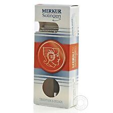 Merkur 20C Black Handle Double Edge Closed Comb Safety Razor - Long Handle