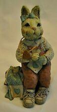 "Sarahs Attic Rabbit Figurine 1994 ""Cookie"""