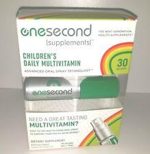 Brand NEW OneSecond Supplements Children's Daily MultiVitamin Oral Spray 11/2020