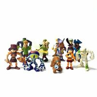 Lot 7 Scooby-Doo Monster Frankensteion Pirate Daphne Figure Cute Toy Gift random