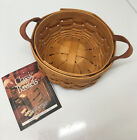 Longaberger 2003 Saffron Booking Basket