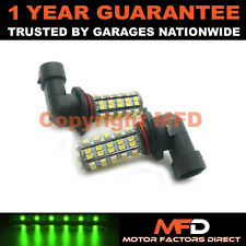 2X XENON GREEN H10 60 SMD LED FOG LIGHT BULBS FOR CHEVROLET BLAZER CADILLAC CTS