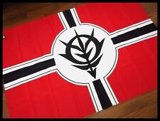 Used! Sieg ZEON Emblem BIG flag Zeonic Front Play Station 2 Gundam Z uc Mg Hg