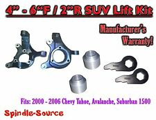 "00 - 06 Chevy Suburban Tahoe Avalanche 1500 4-6"" Lift Kit Spindle Torsion Keys"