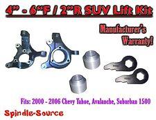 "00 - 06 Chevy Suburban Tahoe Avalanche 1500 4-6"" Lift Kit Spindle Torsion Keys"