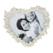 New Cream Clematis Butterfly Heart Flower Butterfly Love Photo Frame 61733