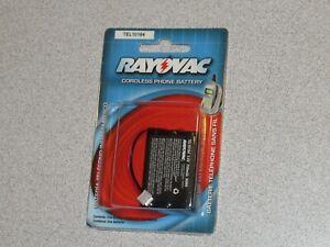 Rayovac Battery For Cordless Phones TEL10164 3.6V 700mAH NEW