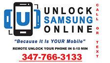 INSTANT REMOTE UNLOCKING SERV FOR SAMSUNG GALAXY S3 T999 T999L I747
