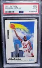 Michael Jordan 1991 Skybox #583 PSA 9 Mint HOF Chicago Bulls 1991-92