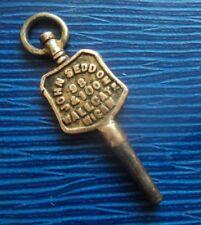 Advertising Pocket Watch Key - John Seddon of Wallgate , Wigan , Lancashire