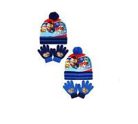 Official Kids Paw Patrol Bobble Hat & Gloves Set - 2 Colours