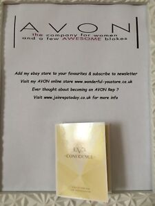 Brand New Avon Eve Confidence EDP 1.5ml Sample Spray  FREE P&P
