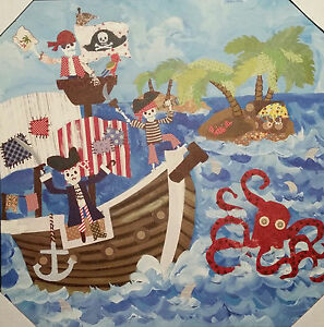 CIRCO WALL CANVAS CHOOSE PIRATE, ALL SPORTS, MONSTER, DINO OR BIKES OOPSY DAISY