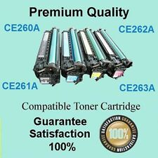 4 Compatible CE260A-CE263A BCMY HP #648A Color LaserJet CP4025n Toner Cartridge