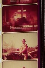 """""""EL DORADO JOHN WAYNE TRAILER 16MM FILM WARM COLOR SOUND ON REEL A21"""