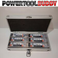 Addax 6pc Mag Drill Bit Set Rotabroach Timco12,14,16,18,20 & 22mm + Pilot Drills