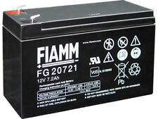 Batteria FIAMM AGM pannelli solari fotovoltaici 7.2 Ah