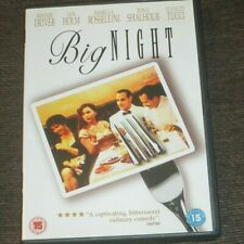 BIG NIGHT UK Released DVD Cult Comedy Stanley Tucci Isabella Rossellini 1996
