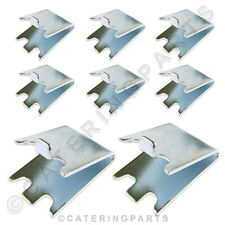 8 x Staffe di supporto per scaffale Clip per frigorifero congelatore BOTTIGLIA DI VINO ripiani più fresco