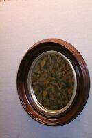 19th Century Victorian  Walnut Oval Mirror