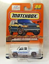 MATCHBOX CAR  '99 CHEVY SILVERADO PICKUP  1999  issue
