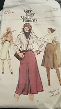 Vintage Very Easy Very Vogue Pattern # 9562 Size 26 1/2