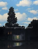 """RENE MAGRITTE Art Painting Photopaper or Canvas Print """"The Empire of Light I"""""""