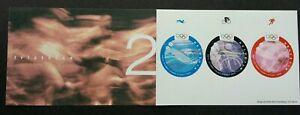 Switzerland Sydney Olympic Games2000 Sport (booklet MNH *odd *adhesive *unusual