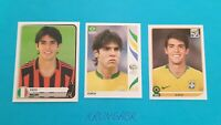 3x 🔥 KAKA ROOKIE STICKERS RARE LOT 🔥 PANINI WC 2006 2010 COE 2005 HOT INVEST
