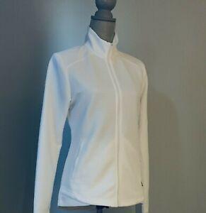 Adidas Golf Women's Ribbed Lightweight Jacket White NWT Size XL