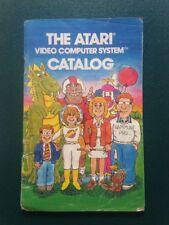 RARE Vintage 1980 il sistema di computer Atari video catalogo A-Warner Company Retrò