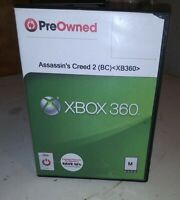 Assassin's Creed II Microsoft Xbox 360 Disc only