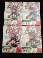 LOT OF 4-2002 NFL SHOWDOWN SPORTS CARD GAME 1ST EDITION FACTORY SEAL DRAFT PACKS