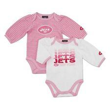 PINK New York Jets 2-Piece nfl INFANT BABY NEWBORN Jersey Shirt 12M 12 Months