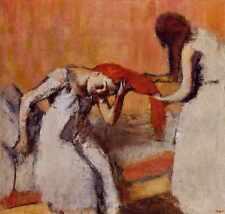 Combing The Hair Circa 1896 1900 Nasjonalgalleriet Norway Norway Oil On Canvas A