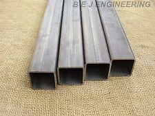 Mild Steel Box 50mm x 50mm x 3mm - 1000mm lg - 4 Pack -  Square Tube