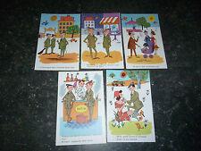 Lot carte postales Fantaisie Militaire Collection Noyer : Illustrateur inconnu