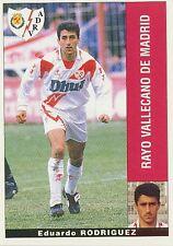 EDUARDO RODRIGUEZ # RAYO VALLECANO STICKER CROMO PANINI LIGA 1996 ESPANA
