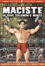 Maciste Double Feature: Maciste In King Solomon's Mines (1964) / Maciste NEW DVD