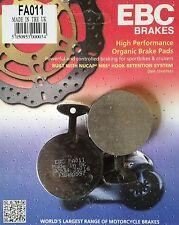 EBC/FA011 Brake Pads - Yamaha RD250 A/B/C/D, RD400 C/D, XS360, XS650