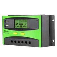 30A 48V Régulateur de charge solaire PWM Contrôleur de charge solaire Terminal