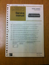 Philips 22RH811 Radio Service Manual - Vintage Radio Audio 60's 70's 80's