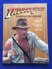 INDIANA JONES AND THE TEMPLE OF DOOM: THE ILLUSTRATED SCREENPLAY: FIRST EDITION