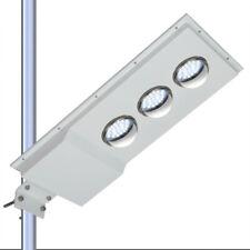 New listing 6500K 1500Lm Led Solar Powered Street Light Outdoor Pole Mount Post Floodlights